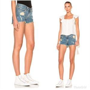 Rag & Bone Winnie Cut-Off Denim Shorts